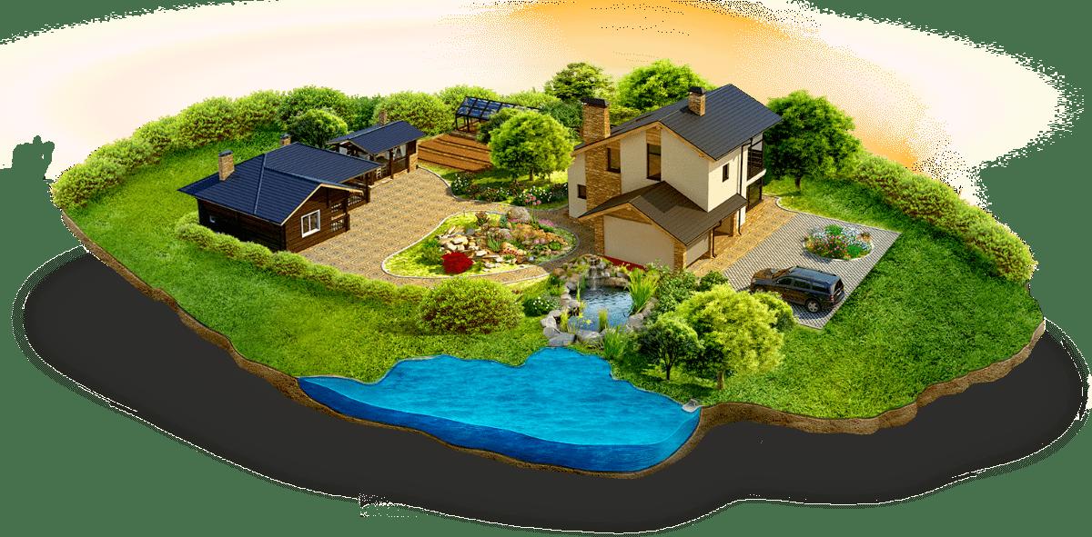 Ландшафтный дизайн и благоустройство территорий